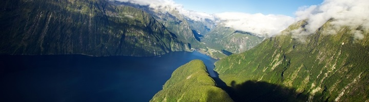 Фьордленд в Новой Зеландии