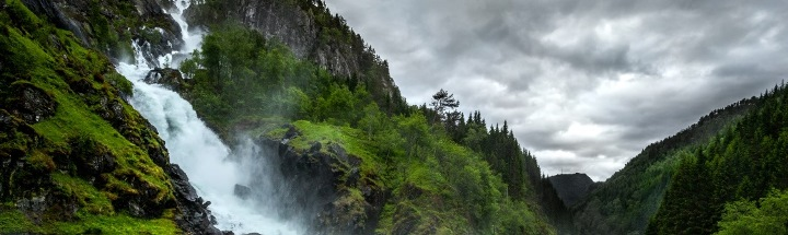 Водопад Лотефоссен