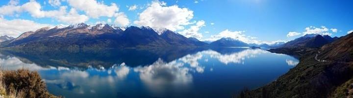 Озеро Вакатипу в Новой Зеландии