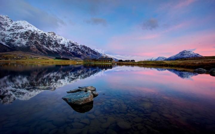 Дом на Озере Вакатипу в Новой Зеландии