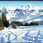Гштад - немного снега